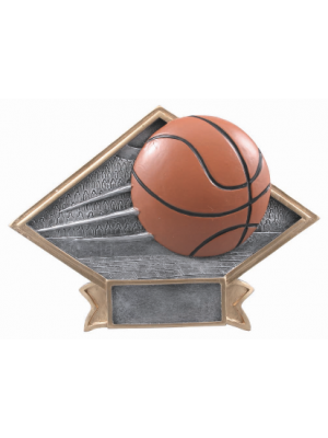 Diamond Plate - Basketball