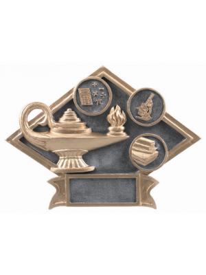 Diamond Plate - Lamp of Knowledge