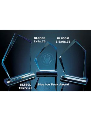 Blue Ice Peak Award