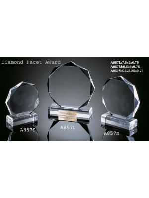 Clear Octagon Award - I