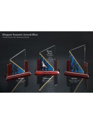 Elegant Summit Award - Blue