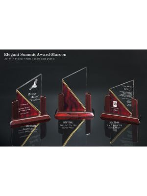 Elegant Summit Award - Maroon